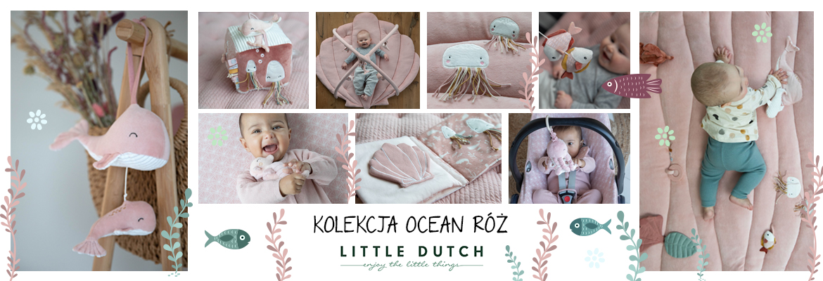 Little Dutch OCEAN PINK