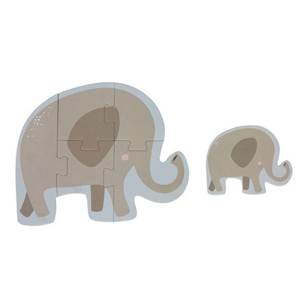 Little Dutch Puzzle Zoo-6 elementów LD4443
